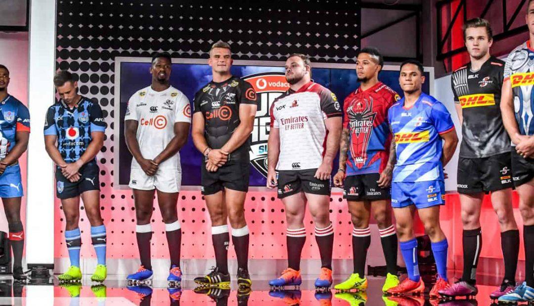 Los kits de Super Rugby 2020 de los equipos sudafrica